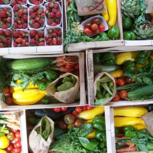 panier légumes frais