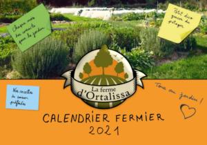 calendrier Ortalissa